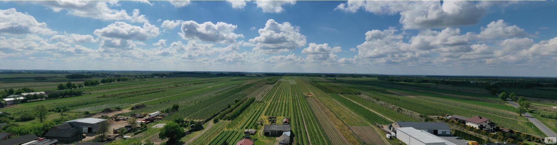Panorama gminy Regnów